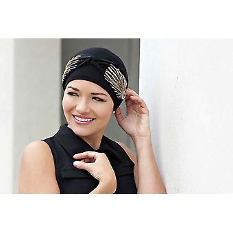Carolina Black Laurel Crown – Headwear for Cancer Patients