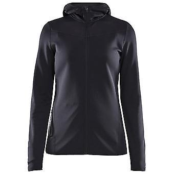 Craft Women's Eaze Sweat Hood Jacket Black