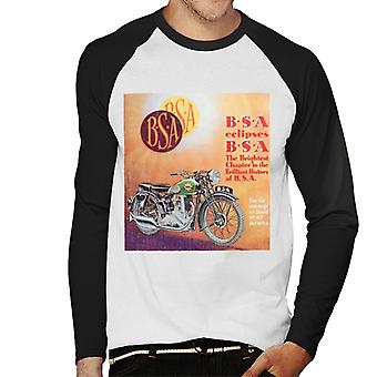 BSA Eclipses Men's Baseball Long Sleeved T-Shirt