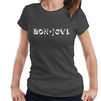 Bon Jovi Heart logo naisten T-paita