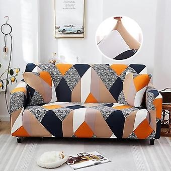 Cross Patroon Elastic Sofa Cover voor woonkamer, Couch Cover, Loveseat Sofa