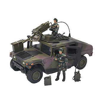 Verden fredsbevarende styrker Humvee med maskingevær