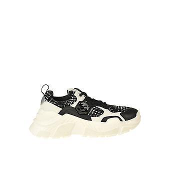 Moa Ezgl230015 Women's Black Fabric Sneakers