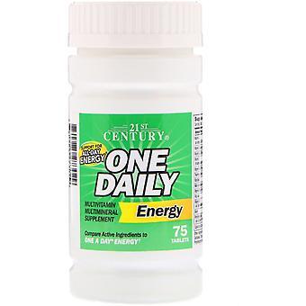 21ème siècle, une énergie quotidienne, 75 tablettes