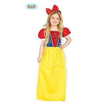 Schneewittchen Kinder Kostüm für Mädchen Märchen Prinzessin Fasching