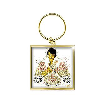 Elvis Presley American Eagle Keyring