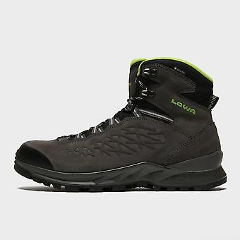 LOWA Homme-apos;s Explorer Gore-Tex® Mid Walking Boots Gris