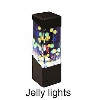 Jellyfish Tank Night Light Aquarium Style Led Lamp For Sensory Autism Led Desk Lamp