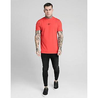 Nieuwe Siksilk Men's Regular Short Sleeve T-shirt Rood