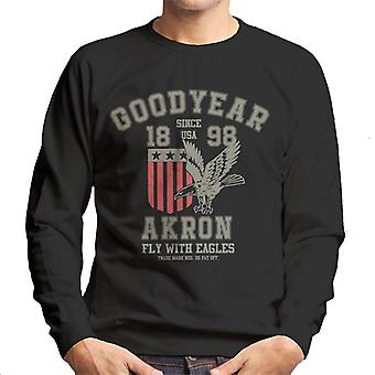 Goodyear Akron Fly With Eagles Men's Sweatshirt
