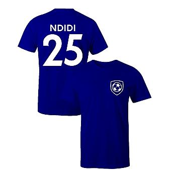 Wilfred Ndidi 25 Leicester Style Player Football T-Shirt