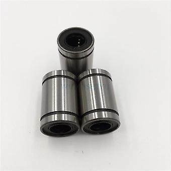 חדש 12 יח 'Lm12uuu 12mm ליניארי כדור מיסבים ליניאריים תותב CNC חלקים מיסבים ליניאריים Lm12