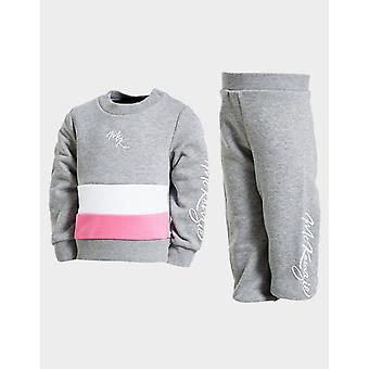 New McKenzie Girls' Doral Fleece Tracksuit Grey