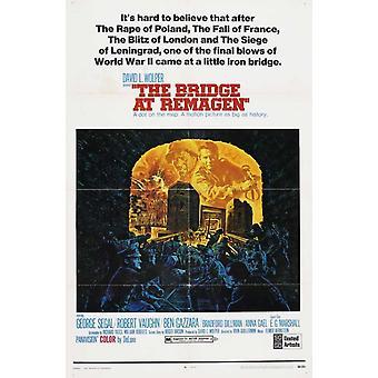 The Bridge at Remagen Movie Poster Print (27 x 40)