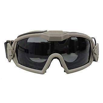 Anti-Staub, Augenschutz Enhance Goggles, ausgestattet mit Miniatur-Lüftergerät