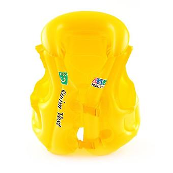 Life Vest Swimming Jacket, Inflatable Float, Learn To Swim Boating For Baby,