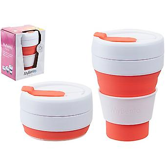 Summit MyBento Pop Cup 355ML Opvouwbare Siliconen Coffee Cup Mok Travel Opvouwbaar