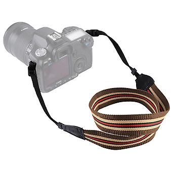 PULUZ Retro Ethnic Style Multi-color Series Stripe Shoulder Neck Strap Camera Strap for SLR / DSLR Cameras
