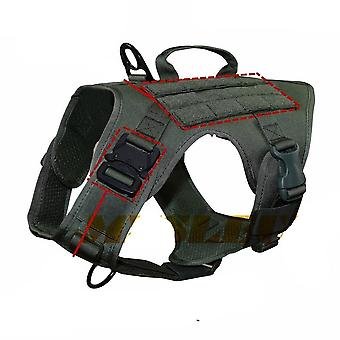 Tactical Dog Vest Breathable, Military Clothes, Harness Adjustable Size,