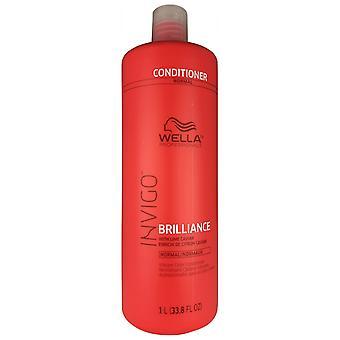 Wella invigo schittering levendige kleur conditioner met limoenkaviaar voor normaal haar 33.8 oz