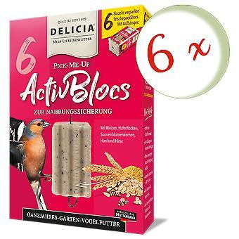 Sparset : 6 x FRUNOL DELICIA® Delicia® Pick-Me-Up Activeblocs, 6 pièces