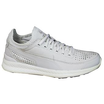 Puma Ignite Sock Mens Trainers Lace Up Shoe Off White Synthetic 360570 01 Z44A