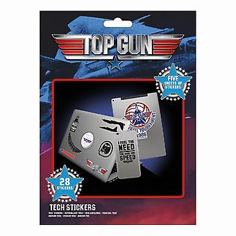 Top Gun Wingman klistermærker (Pack af 28)