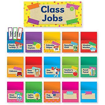Tape It Up! Class Jobs Bulletin Board
