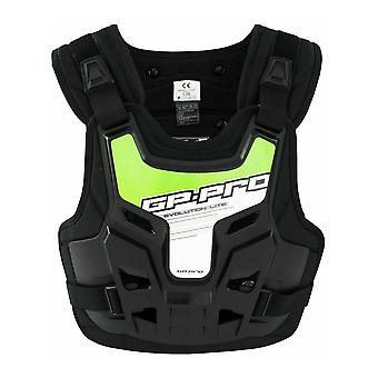 GP-Pro Evolution Lite Body Armour bröst / rygg protector w / grön klistermärke