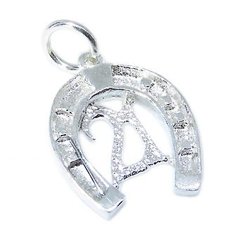 21 In Lucky Hufeisen Sterling Silber Charm .925 X 1 21. Geburtstag Charms - 8442