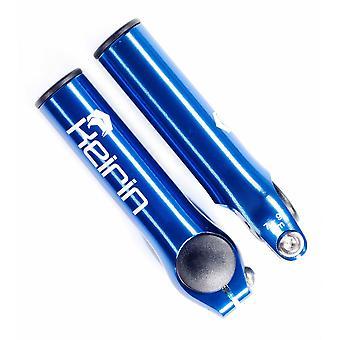 Keirin CNC Bar Ends - Blue