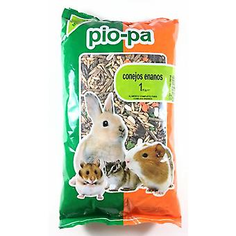 Pio-Pa Complete and Balanced Feed for Dwarf Rabbits (Small pets , Dry Food and Mixtures)