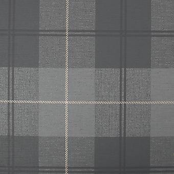 Heritage Tweed Charcoal Wallpaper