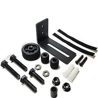 8 In 1 Carbon Steel Adjustable Sliding Floor Guide For Barn Door Hardware