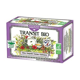 Organic transit herbal tea 20 infusion bags