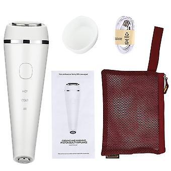 Led Photonentherapie Schall vibration Faltenentferner heiße kühle Behandlung Anti-Aging Hautpflege Beauty-Gerät Massage Verjüngung