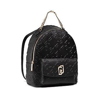 Backpack Liu-jo Backpack M Backpack Embossed Black Embossed Bs21lj53 Aa1342