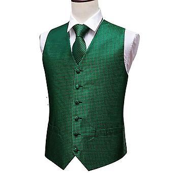 Paisley Jacquard Folral Silke Vest