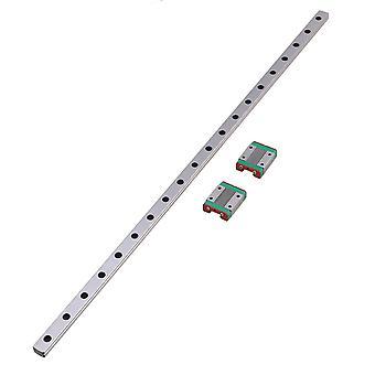 50cm MGN12 Linear Guide Rail & 2 Sliding Rail Block Linear Motion Device