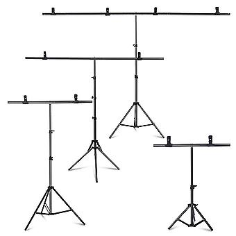 Photography Photo Studio T-shape Backdrop Background Stand Frame