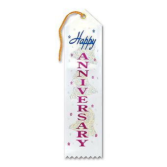 Cinta de premio Happy Anniversary (Pack of 6)
