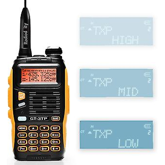 HanFei GT-3TP Mark III Dualband Handfunkgert UHF/VHF 2m/70cm Funkgert Tri-Power 8W/4W/1W Walkie
