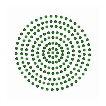 Couture Creations - Emerald Green 3mm Pärlor (206st)