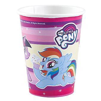 8 Kartonnen Bekers My Little Pony 250 ml