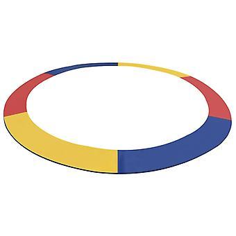 vidaXL reuna kansi 3,66 m pyöreä trampoliinit PVC Monivärinen