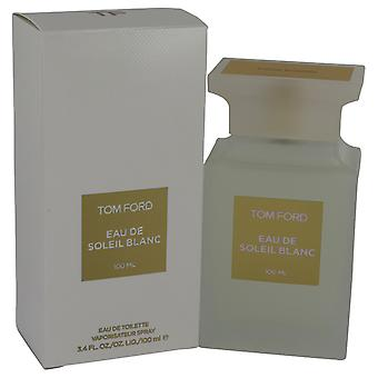 Tom Ford Eau De Soleil Blanc by Tom Ford Eau De Toilette Spray 3.4 oz