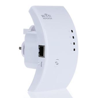 Repetidor de wi-fi sem fio 802.11N Conectora de alcance de roteador de rede 300M UK Plug