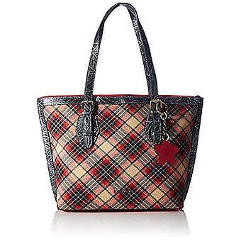 Laura Vita 3776, Shopper. Woman, Red, Medium