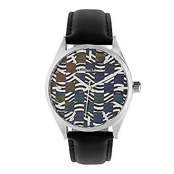 Christian Lacroix Men's Quartz Watch with Leather Strap CLMS1821