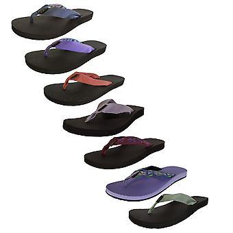 Teva Womens Klassiska Flip Toe Post Slide Sandaler